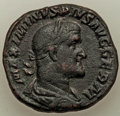 Ancients:Roman Imperial, Ancients: Maximinus I (AD 235-238). AE sestertius (30mm, 19.87 gm, 12h). VF....