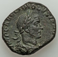 Ancients:Roman Imperial, Ancients: Volusian, as Augustus (AD 251-253). AE sestertius (28mm, 17.01 gm, 7h). VF....