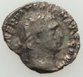 Ancients:Roman Imperial, Trajan (AD 98-117). AR quinarius (15mm, 1.24 gm, 8h). VF.