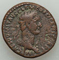 Ancients:Roman Imperial, Ancients: Domitian, as Augustus (AD 81-96). AE as (26mm, 10.50 gm,6h). VF....