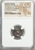 Ancients:Roman Imperial, Maximian, First Reign (AD 286-310). AR argenteus (18mm, 2....