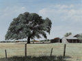 Fine Art - Painting, American, Will Hinds (American, 20th Century). Toby's Farm. Oil onMasonite. 18 x 24 inches (45.7 x 61.0 cm). Signed lower right: ...