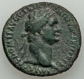 Ancients:Roman Imperial, Ancients: Domitian, as Augustus (AD 81-96). AE as (29mm, 10.54 gm,7h). VF. ...