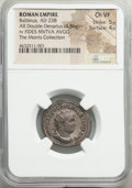 Ancients:Roman Imperial, Balbinus (April-July AD 238). AR antoninianus (23mm, 4.86 ...
