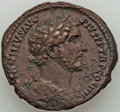 Ancients:Roman Imperial, Ancients: Antoninus Pius (AD 138-161). AE as (28mm, 12.37 gm, 11h). XF....