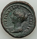 Ancients:Roman Imperial, Faustina Junior (AD 147-175/6). AE as (26mm, 9.87 gm, 6h)....