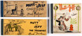 Platinum Age (1897-1937):Miscellaneous, Mutt and Jeff Platinum Age Group of 3 (Cupples & Leon,1910-26)....
