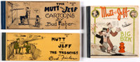 Mutt and Jeff Platinum Age Group of 3 (Cupples & Leon, 1910-26)