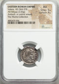 Ancients:Roman Imperial, Valens, Eastern Roman Empire (AD 364-378). AR siliqua (19m...