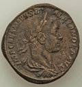 Ancients:Roman Imperial, Ancients: Severus Alexander, as Augustus (AD 222-235). AE sestertius (30mm, 18.17 gm, 12h). VF....