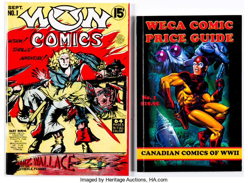 Weca Comic Price Guide/Wow Comics #1 Group (Various Publishers