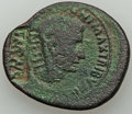 Ancients:Roman Imperial, Ancients: Augustus (27 BC-AD 14) AE as (31mm, 9.21 gm, 6h). VF,countermarks....