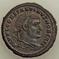 Ancients:Roman Imperial, Constantine I the Great, as Caesar (AD 307-337). AE follis...