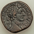 Ancients:Roman Imperial, Commodus (AD 177-192). AE sestertius (30mm, 24.84 gm, 1h)....