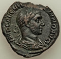 Ancients:Roman Imperial, Volusian (251-253). AE sestertius (29mm, 13.52 gm, 1h). XF...
