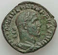 Ancients:Roman Imperial, Ancients: Philip I (AD 244-249). AE sestertius (30mm, 15.00 gm, 1h). VF....