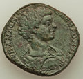 Ancients:Roman Imperial, Caracalla, as Caesar (AD 196-198). AE sestertius (29mm, 21...