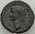 Ancients:Roman Imperial, Ancients: Divus Germanicus (died AD 19). AE as (27mm, 12.18 gm, 2h). XF, roughness....