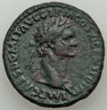 Ancients:Roman Imperial, Domitian (AD 81-96). AE as (26mm, 9.93 gm, 5h). VF, scratc...