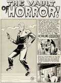 Original Comic Art:Panel Pages, Johnny Craig The Haunt of Fear n°7 Original de la page 1(EC, 1951).. ...