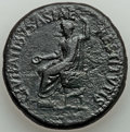 Ancients:Roman Imperial, Tiberius (AD 14-37). AE sestertius (34mm, 27.04 gm, 6h). A...