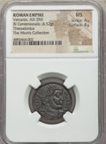 Ancients:Roman Imperial, Vetranio (AD 350). BI centenionalis (4.52 gm, 6h). NGC MS ...