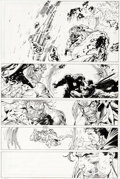 Original Comic Art:Panel Pages, Jim Lee et Scott Williams Superman n°215 Original de la page23 (DC, 2005)....