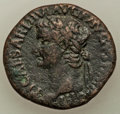 Ancients:Roman Imperial, Tiberius (AD 14-37). AE as (27mm, 9.97 gm, 7h). VF.