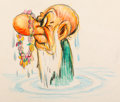 Animation Art:Concept Art, Snow White and the Seven Dwarfs Grumpy's Bath Concept Art(Walt Disney, 1937)....