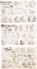 animation art:Model Sheet, King-Size Canary/Little 'Tinker Studio Model Sheets Group of3 (MGM, 1947-48).... (Total: 3 Items)