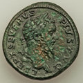 Ancients:Roman Imperial, Ancients: Septimius Severus (AD 193-211). AE sestertius (32mm,23.63 gm, 6h). XF, pitting. ...