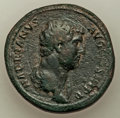 Ancients:Roman Imperial, Hadrian (AD 117-138). AE sestertius (33mm, 24.96 gm, 7h). ...