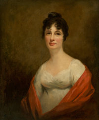Sir Henry Raeburn (British, 1756-1823) Mrs. Alexander Dirom, wife of Lieutenant-General Alexander Dirom of Moun