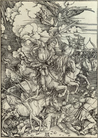 Albrecht Dürer (German, 1471-1528) The Four Horsemen of the Apocalypse, from The Apocalypse, c. 1498, f