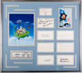 Animation Art:Photograph, The Jetsons Publicity Photographs and Autograph CardsDisplay Piece (Hanna-Barbera, c. 1960s-80s)....