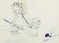Animation Art:Production Drawing, The Jetsons Mr. Cogswell and Mr. Spacely Layout Drawing (Walt Disney, 1962)....