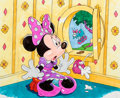 Animation Art:Color Model, Minnie Mouse Children's Book Color Model Hand-Colored Print (Walt Disney, 1997)....
