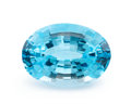 Gems:Faceted, Gemstone: Blue Topaz - 16.71 Cts.. Brazil. 18.10 x 13.13 x 9.14 mm . ...