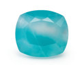 Gems:Faceted, Gemstone: Aquaprase - 12.4 Cts.. Tanzania. 15.66 x 13.98 x 10.77 mm . ...