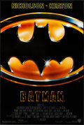 """Movie Posters:Action, Batman (Warner Brothers, 1989). Rolled, Very Fine. One Sheet (27"""" X 40.5"""") SS. Action.. ..."""