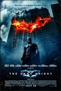 """Movie Posters:Action, The Dark Knight (Warner Brothers, 2008). Rolled, Very Fine+. One Sheet (27"""" X 40"""") DS Advance Style E. Action.. ..."""