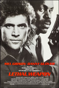 """Movie Posters:Action, Lethal Weapon & Other Lot (Warner Brothers, 1987). Rolled, Very Fine+. One Sheets (2) (27"""" X 40.25"""") SS Advance. Action.. ... (Total: 2 Items)"""