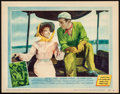"""Movie Posters:Adventure, The African Queen (United Artists, 1952). Very Fine-. Lobby Card (11"""" X 14""""). Adventure.. ..."""