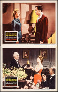 "Movie Posters:Academy Award Winners, All About Eve (20th Century Fox, 1950). Overall: Very Fine-. Lobby Cards (2) (11"" X 14""). Academy Award Winners.. ... (Total: 2 Items)"