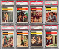 Non-Sport Cards:Lots, 1958 Topps TV Westerns PSA Graded Collection (8)....