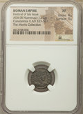 Ancients:Roman Imperial, Ancients: Festival of Isis, 4th century AD. AE4 or BI nummus (16mm, 1.72 gm, 6h). NGC XF 4/5 - 3/5....