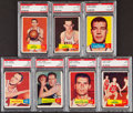Basketball Cards:Lots, 1957 Topps Basketball PSA Graded Collection (7)....