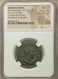 Ancients:Roman Imperial, Ancients: Severus Alexander, as Augustus (AD 222-235). AE as (26mm, 12.95 gm, 12h). NGC AU 5/5 - 3/5....