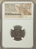 Ancients:Roman Imperial, Ancients: Constans, as Augustus (AD 337-350). AR siliqua (20mm, 3.37 gm, 6h). NGC Choice VF 4/5 - 4/5....