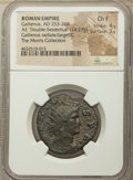 Ancients:Roman Imperial, Ancients: Gallienus (AD 253-268). AE 'double sestertius' (28mm, 14.27 gm, 6h). NGC Choice Fine 4/5 - 3/5....